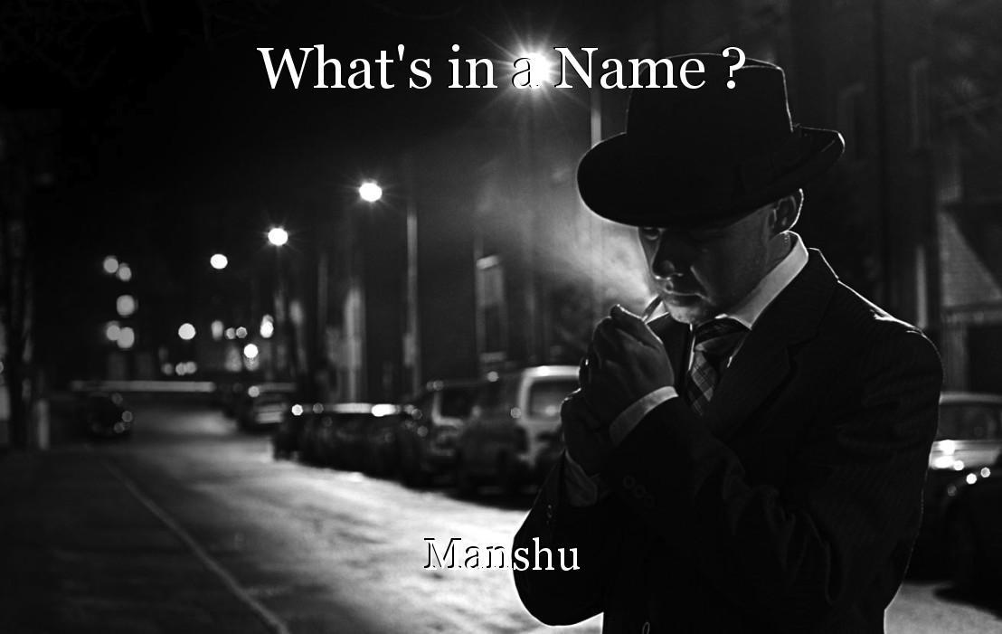 manshu name
