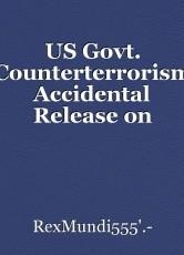 US Govt. Counterterrorism Accidental Release on Mind Control Docs