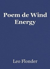 Poem de Wind Energy