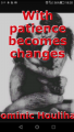 With patience becomes changes