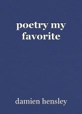 poetry my favorite