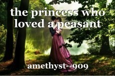 the princess who loved a peasant