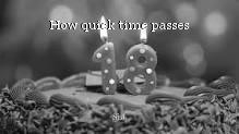 How quick time passes