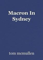 Macron In Sydney