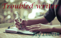 Troubled writer