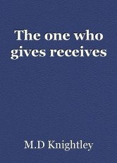 The one who gives receives