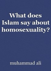 What does Islam say about homosexuality?