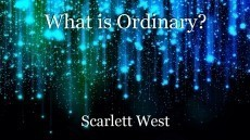 What is Ordinary?