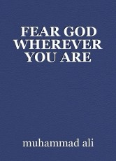 FEAR GOD WHEREVER YOU ARE