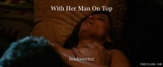 With Her Man On Top