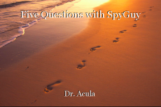 Five Questions with SpyGuy
