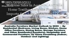 Mattress Sales in Australia, Australia Home Textiles, Australia Furniture Imports,Sofa Sales in Australia : Ken Research
