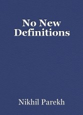 No New Definitions