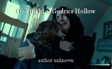 One night at Godrics Hollow