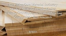 Asia Balsa Core Material Industry Market,Analysis,Trends,Market Revenue,Growth,Segmentation,Leading Companies : Ken research
