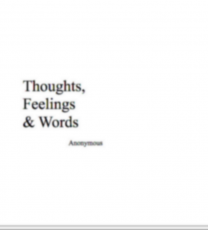 thoughts, feelings & words
