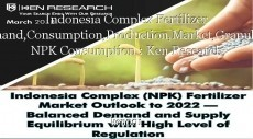 Indonesia Complex Fertilizer Demand,Consumption,Production,Market,Granulated NPK Consumption : Ken Research