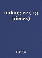 aplang ec ( 13 pieces)