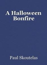 A Halloween Bonfire