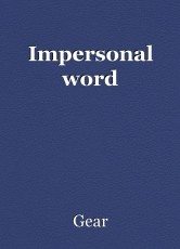 Impersonal word