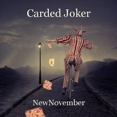 Carded Joker