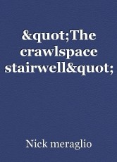 """The crawlspace stairwell"""
