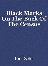 Black Marks On The Back Of The Census