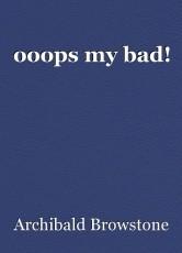 ooops my bad!