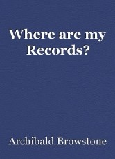 Where are my Records?