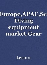 America,Europe,APAC,Scuba,MEA Diving equipment market,Gear and accessories of Scuba Diving market : Ken Research
