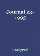 Journal 23- 1995