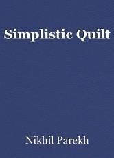 Simplistic Quilt