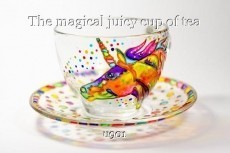 The magical juicy cup of tea