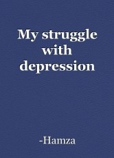 My struggle with depression