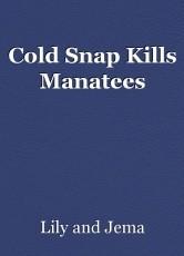 Cold Snap Kills Manatees
