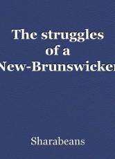 The struggles of a New-Brunswicker