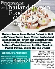 Thailand Frozen Foods Market Outlook to 2022-Ken Research