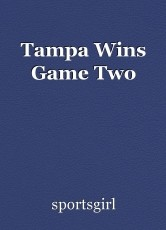 Tampa Wins Game Two