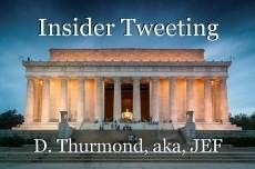 Insider Tweeting