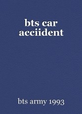 bts car acciident