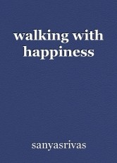 walking with happiness