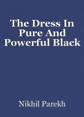 The Dress In Pure And Powerful Black