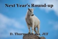 Next Year's Round-up