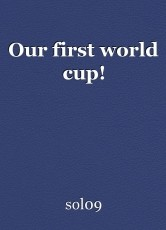 Our first world cup!