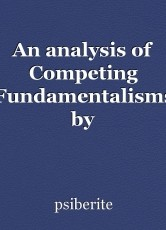 An analysis of Competing Fundamentalisms by Sathyanathan Clarke