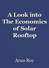 A Look into The Economics of Solar Rooftop System Bangalore