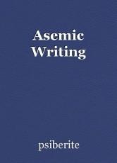 Asemic Writing