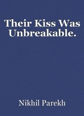 Their Kiss Was Unbreakable.