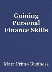 Gaining Personal Finance Skills