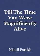 Till The Time You Were Magnificently Alive